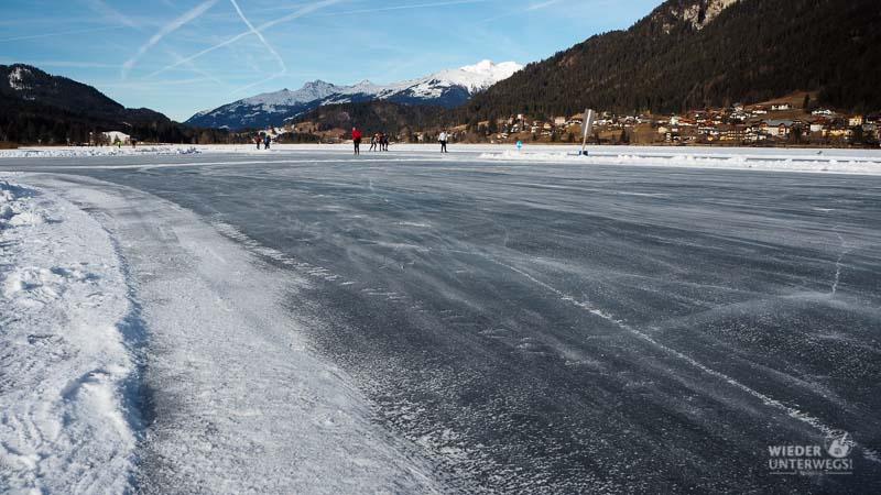 Eis am Weissensee