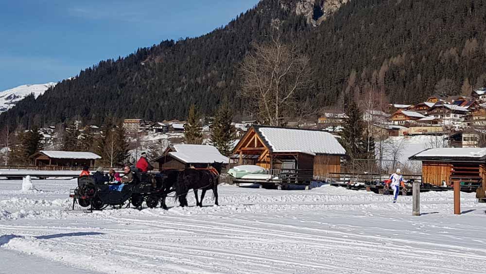 Pferdekutsche Weissensee