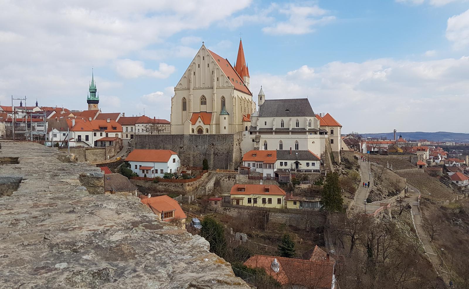 Znaim Burg Tschechien