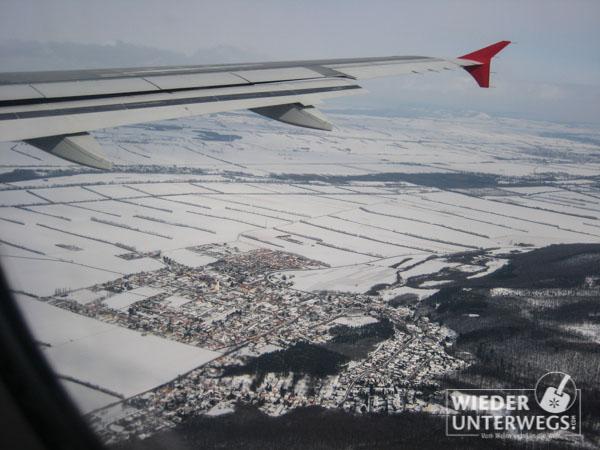 Wolkersdorf von oben