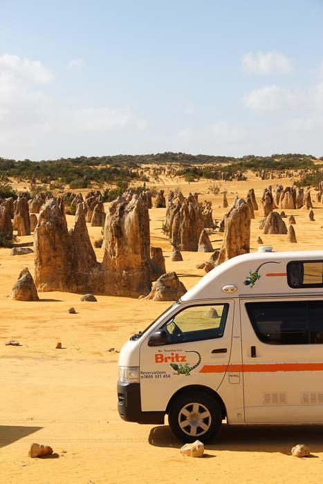 Wohnmobil Britz Australien Kastenwagen