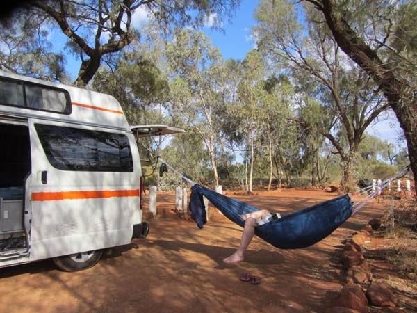 im Wohnmobil Kastenwagen Australien