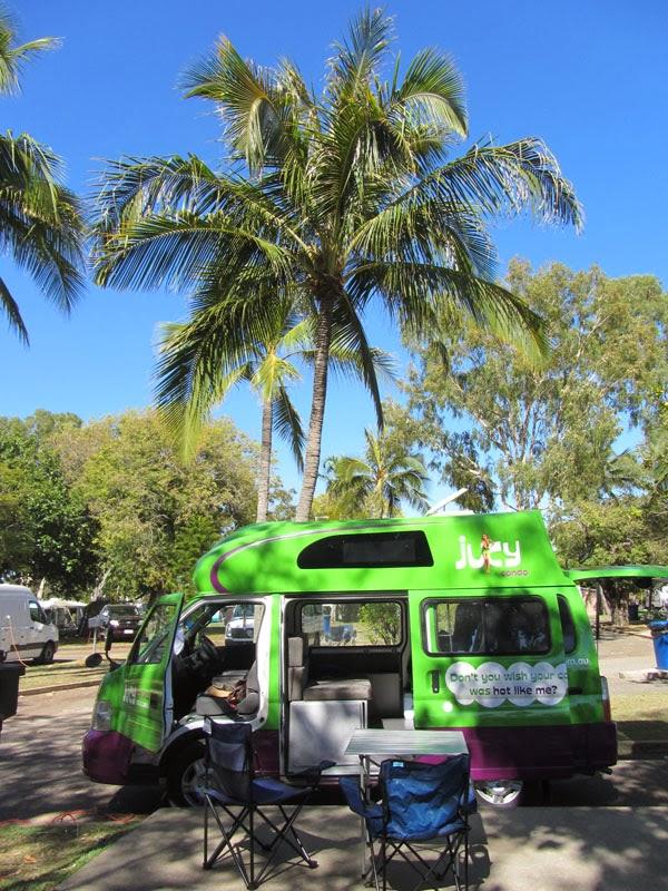 Jucy Wohnmobil Australien