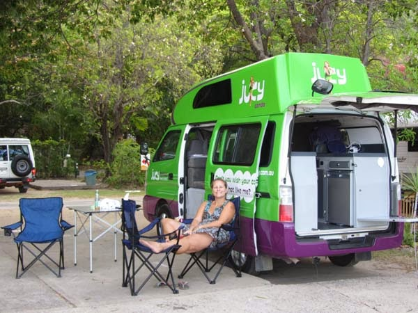 Australien Wohnmobil Camper Jucy