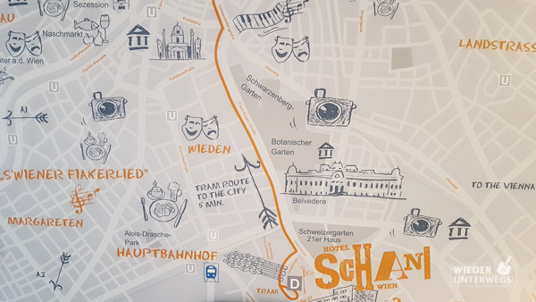 Hotel in Wien nahe dem Hauptbahnhof: Das Schani