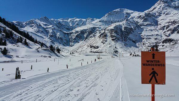 Gasteinertal Winterwandern
