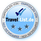 Travel-List.de Prüfsiegel