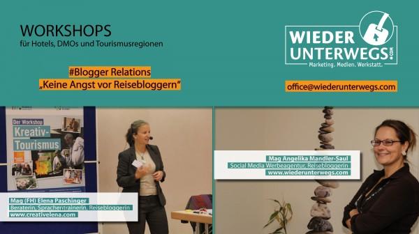 workshop #bloggerrelations